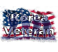 Korea Vetreran Photographic Print