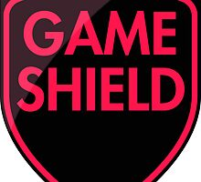Game Shield (red-pink) by xtrolix