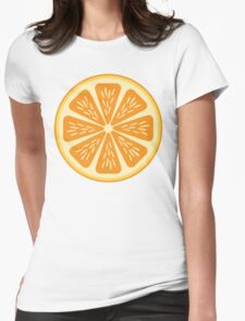 Citrus I Womens Fitted T-Shirt