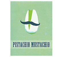 Pistachio Mustachio Photographic Print