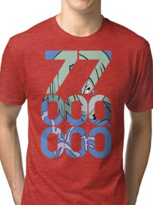 The Black Leg Tri-blend T-Shirt