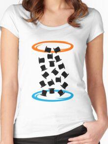 Magic portal Women's Fitted Scoop T-Shirt