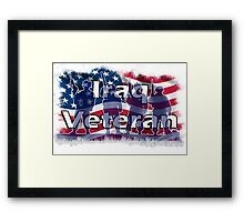 Iraq Veteran Framed Print
