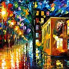 ONLY LOVE - OIL PAINTING BY LEONID AFREMOV by Leonid  Afremov
