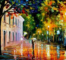 CITY OF DESTINY - OIL PAINTING BY LEONID AFREMOV by Leonid  Afremov
