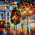 LONELY COUPLES - OIL PAINTING BY LEONID AFREMOV by Leonid  Afremov
