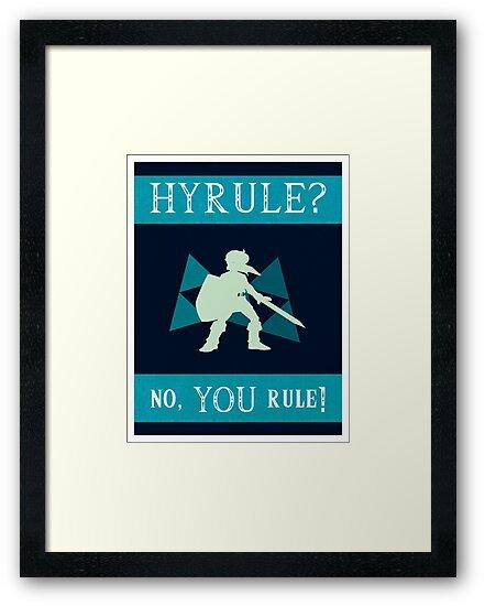 Hyrule? No, YOU Rule! by farewellsummer