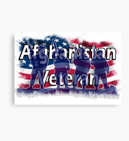 Afghanistan Veteran  Canvas Print