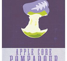 Apple Core Pompadour by farewellsummer