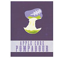 Apple Core Pompadour Photographic Print