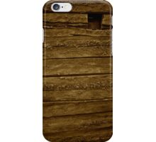 Wooden Wall iPhone Case/Skin