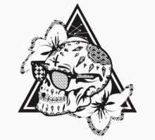 Aztec Skull  Kids Tee