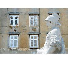 The squire of Piran - Slovenia Photographic Print
