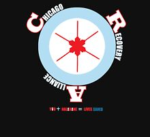 CRA Target Chicago Flag w/ hypodermic needle star Unisex T-Shirt