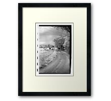 County Drive Framed Print
