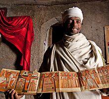 Lalibela Priest by Karen Millard