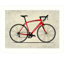 Specialized Race Bike Art Print