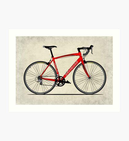 Specialized Race Bike Art Print