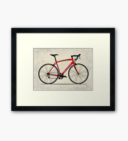 Specialized Race Bike Framed Print
