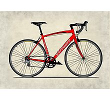 Specialized Race Bike Photographic Print