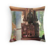 Bird Mansion Throw Pillow