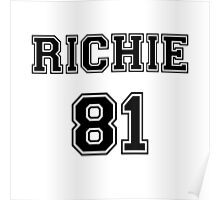 Nicole Richie 'RICHIE 81' Sportive / Football Jersey Look Poster