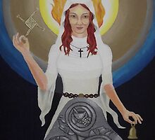 Brigid - Saint and Goddess by NicPhillips