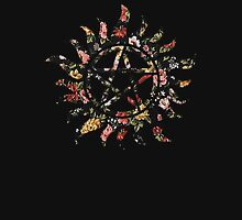Floral Anti-Possession Symbol Unisex T-Shirt