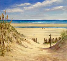 Dunes path by Patricia Sabin