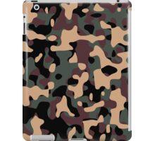 Woodland Camouflage iPad Case/Skin