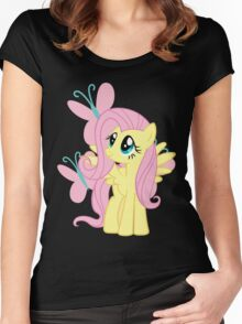 Fluttershy Women's Fitted Scoop T-Shirt