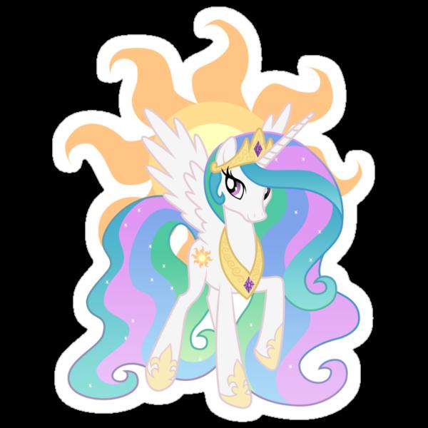 Princess Celestia by Celestiya