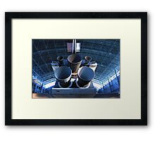 Silenced Shuttle Framed Print