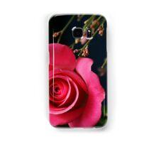 Astounding Blossom ~ Pink Rose Samsung Galaxy Case/Skin