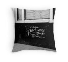 food [not] served Throw Pillow