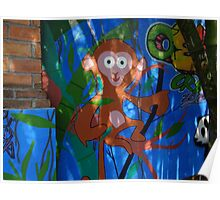 The Monkey - Graffiti - El Chango Poster