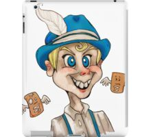 Creepy Toaster Strudel Boy iPad Case/Skin