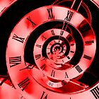 Infinity Time Red by Steve Purnell