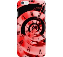 Infinity Time Red iPhone Case/Skin
