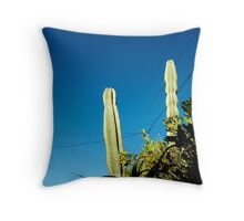 you're cactus Throw Pillow