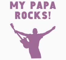 My Papa Rocks Kids Tee