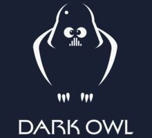 Dark Owl (Science Fiction) Kids Tee