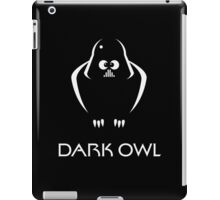 Dark Owl (Science Fiction) iPad Case/Skin