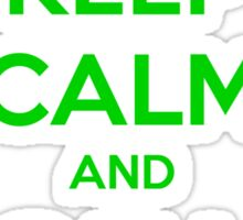 Keep Calm And Call Saul Sticker