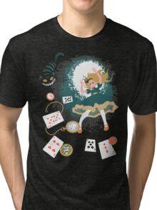 Down The Rabbit Hole Tri-blend T-Shirt