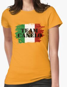 Team Canelo #2 Womens Fitted T-Shirt