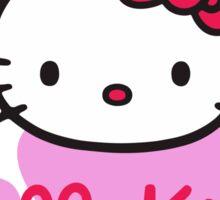 Hello Kitty Love Purple Sticker