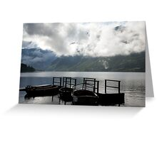 Lake after the storm Greeting Card