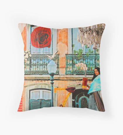 Lisbon I Throw Pillow