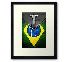 Flags - Brazil Framed Print